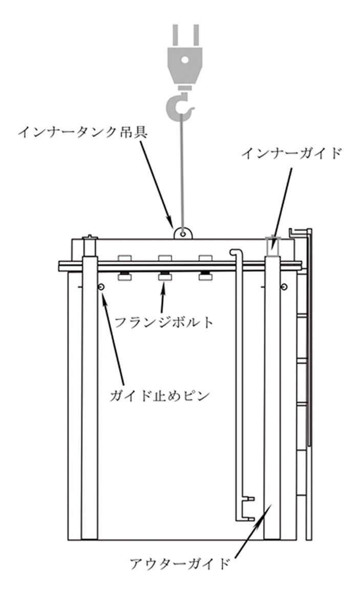 のびたん・可変容量式解体用散水機